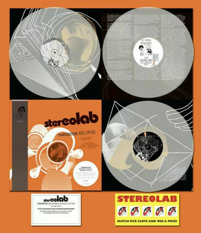 Stereolab - Margerine Eclipse (Deluxe Expanded Edition Clear Vinyl 3xLP w/ OBI Strip x/500)