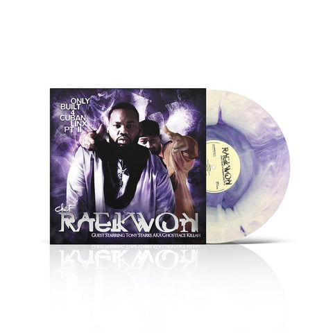 Raekwon - Only Built For Cuban Linx II (10th Anniversary Edition Purple / White Swirl Vinyl 2xLP x/200)