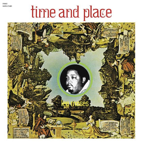 Lee Moses - Time And Place (Limited Edition Yellow Vinyl LP x/400)