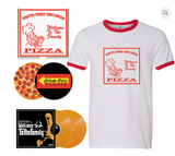 Various Artists - Welcome To The Family (Limited Edition Yellow Vinyl 2xLP x/100 w/ T-Shirt, Pizza Box & Slipmat Bundle)