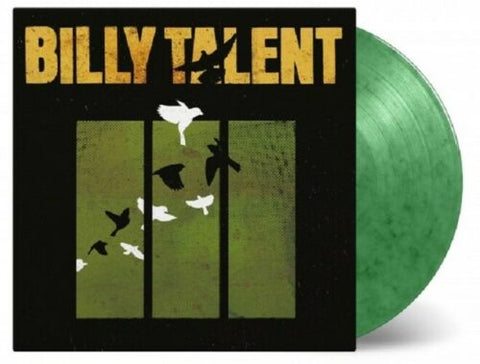 Billy Talent - Billy Talent III (Limited Edition 180-GM Green Marble Vinyl LP x/2000)