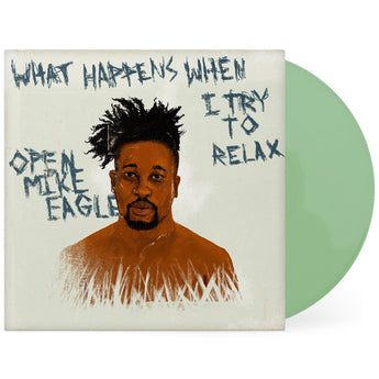 "Open Mike Eagle - What Happens When I Try To Relax (Fat Beats Exclusive Green 12"" Vinyl EP x/150)"