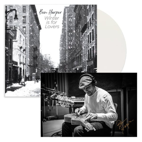 Ben Harper - Winter Is For Lovers (Limited Edition Opaque White Vinyl LP + Autographed Print)