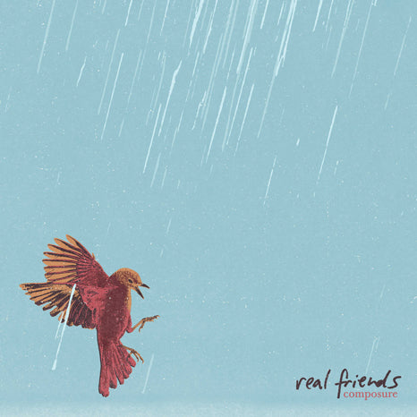 Real Friends - Composure (Limited Edition Orange / Oxblood / Aqua Blue Tri-Color Vinyl LP x/250)