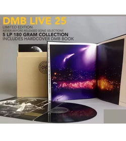 Dave Matthews Band - DMB Live 25 (Limited Edition 180-GM Vinyl 5xLP Box Set x/2500 + Book)