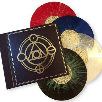 "Thrice - The Alchemy Index (Limited Edition 4 x 180-GM 10"" Colored Vinyl Hardcover Book Set)"