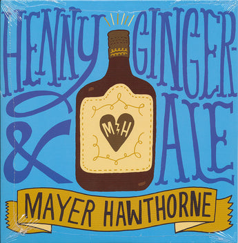 "Mayer Hawthorne - Henny & Ginger Ale (Red/Brown 7"" Vinyl)"