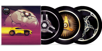 Various Artists - Rocket League: The Vinyl Collection (Rims Picture Disc Edition Vinyl 3xLP x/1000)