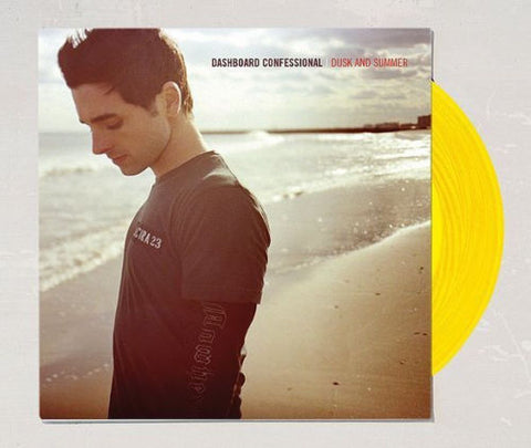 Dashboard Confessional - Dusk And Summer (Limited Edition Yellow Vinyl LP x/1000) - Rare Limiteds