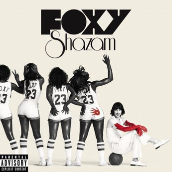 Foxy Shazam - Foxy Shazam [Self-Titled] (Limited Edition Black / White Split w/ Red Splatter Vinyl LP x/500)