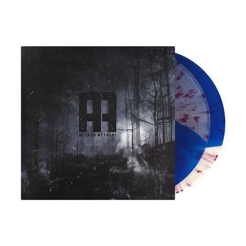 Attack Attack! - Attack Attack! [Self-Titled] (Limited Edition Ultra Clear / Royal Blue Split w/ Deep Purple Splatter Vinyl 2xLP x/300 + Digital Download)