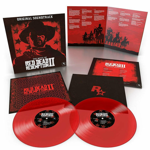 Various Artists - The Music Of Red Dead Redemption 2 [Original Soundtrack] (Limited Edition Translucent Red Vinyl 2xLP)