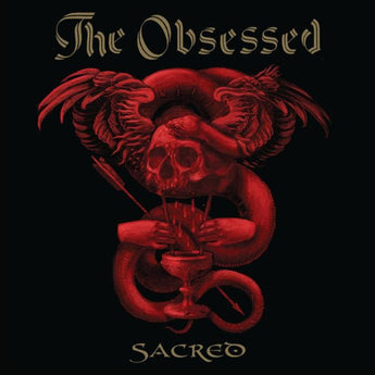 The Obsessed - Sacred (Deluxe Edition Clear with Red + Gold Splatter Vinyl 2xLP x/250 + Signed Art Print + Enamel Pin)