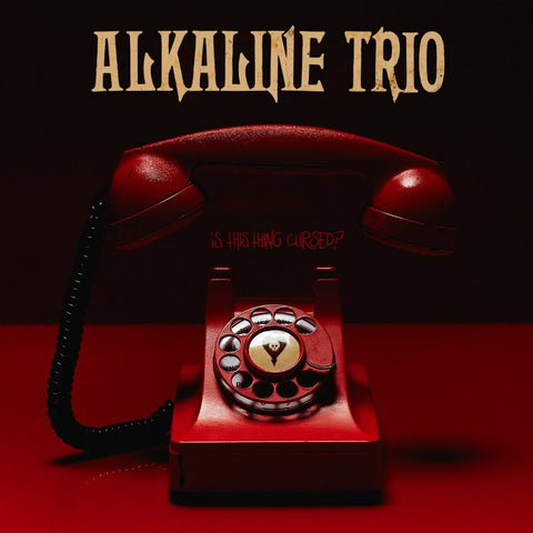 Alkaline Trio - Is This Thing Cursed? (Limited Edition 180-GM Opaque Red w/ Black Smoke Vinyl LP x/500) - Rare Limiteds