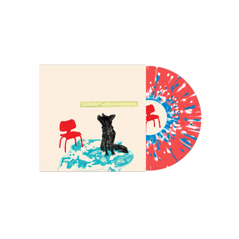 Dogleg - Melee (Limited Edition Red w/ Blue & White Splatter Vinyl LP x/250)