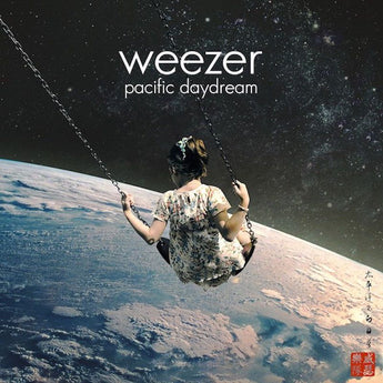 Weezer - Pacific Daydream (Limited Edition Transparent w/ Pink Vinyl LP x/1000)