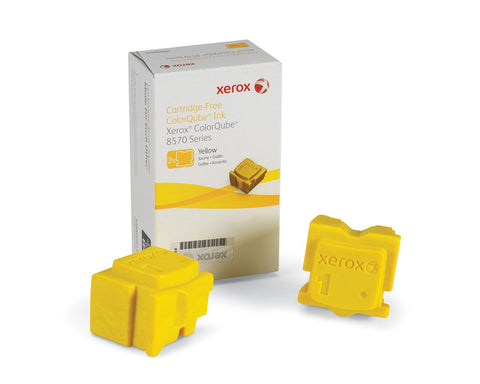 2 Yellow Xerox® ColorQube 8570/8580 108R00933