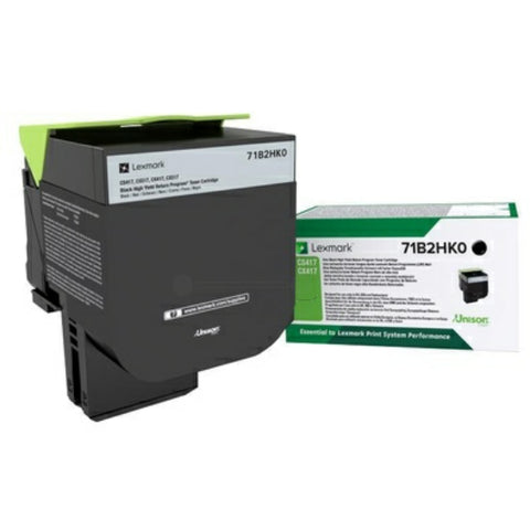 Lexmark 71B2HK0 Toner black, 6K pages