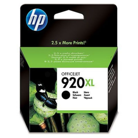 HP 920XL Black (1,200 Pages) CD975AE