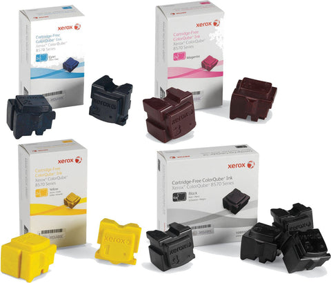 Xerox® ColorQube 8570/8580 Value Pack XL (10 Genuine Inks)