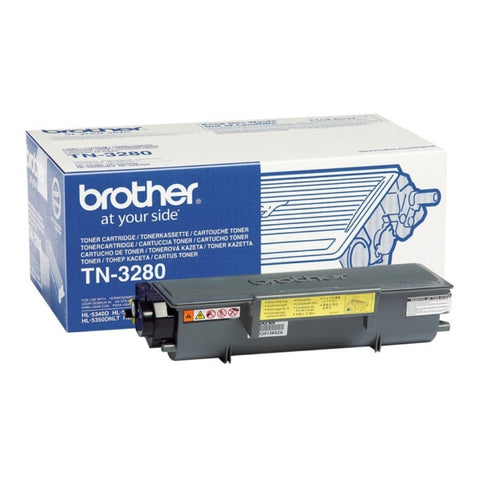 Brother TN-3280 High Capacity Black Toner (8,000 Pages)