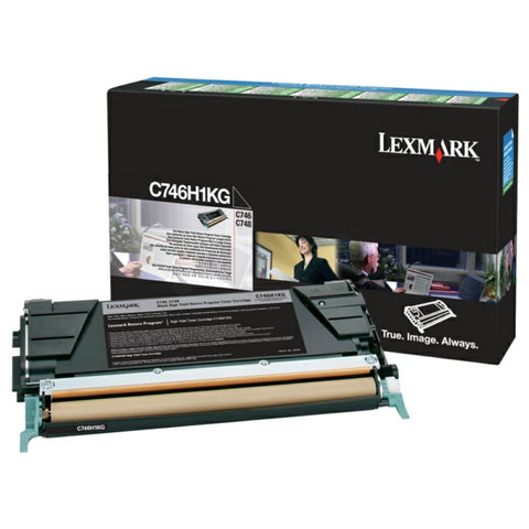 Lexmark C746H1KG Black Toner (12,000 Pages)