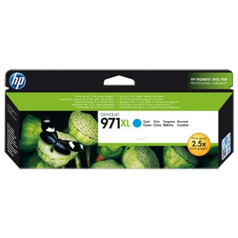 HP 971XL Cyan (6,600 pages) CN626AE