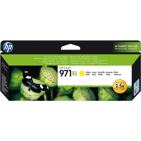 HP 971XL Yellow (6,600 pages) CN628AE