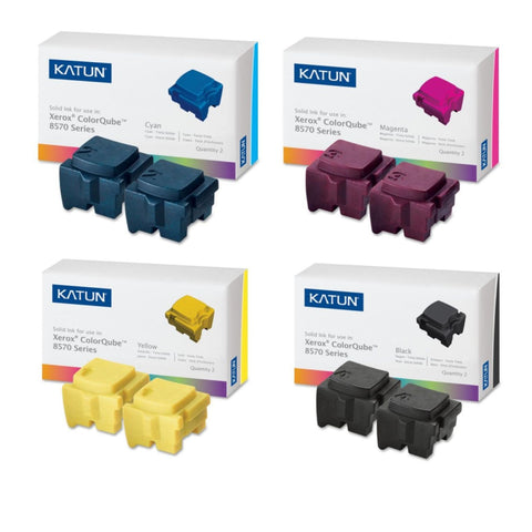 Katun® ColorQube 8570/8580 Value Pack (8 Inks)