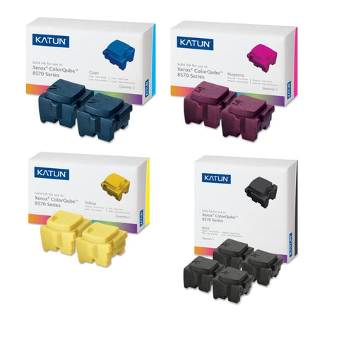 Katun® ColorQube 8570/8580 Value Pack XL (10 Inks)