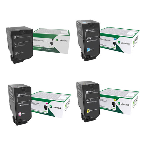 Lexmark 73B2 Bundle (15,000 pages Colours & 20,000 pages Black)