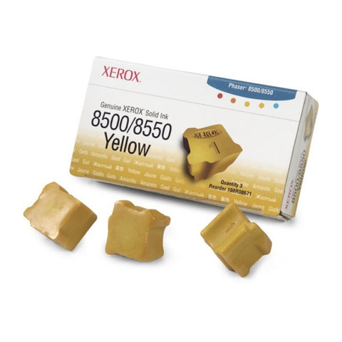 Xerox® Phaser 8500 Yellow x 3 - 108R00671