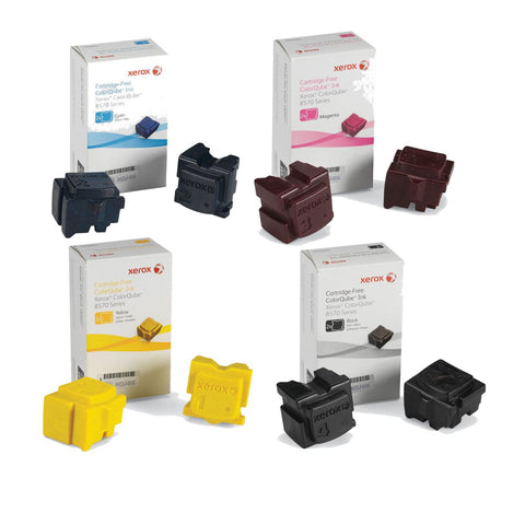 Xerox® ColorQube 8570/8580 Value Pack (8 Genuine Inks)