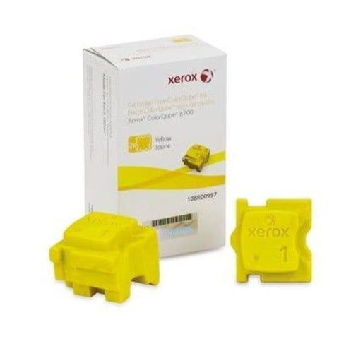 2 Yellow Xerox® ColorQube 8700/8900 Yellow 108R00997