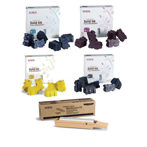 Xerox® ColorQube 8860 Value Pack Plus (24 Inks + Maintenance Kit)
