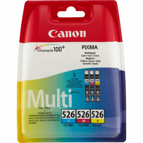 Canon 4541B006 (526) Ink Cartridge Multi-Pack (450 pages)