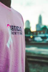 Article Twenty One - Breast Cancer Awareness - Charity Shirt