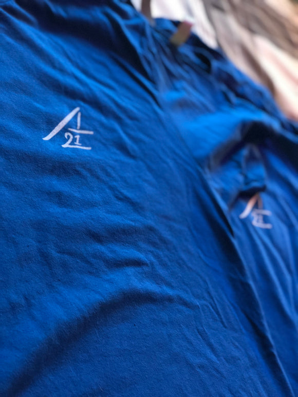 Article Twenty One v2 Tee - Deep Royal