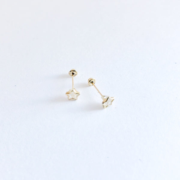 New Born Star Earrings