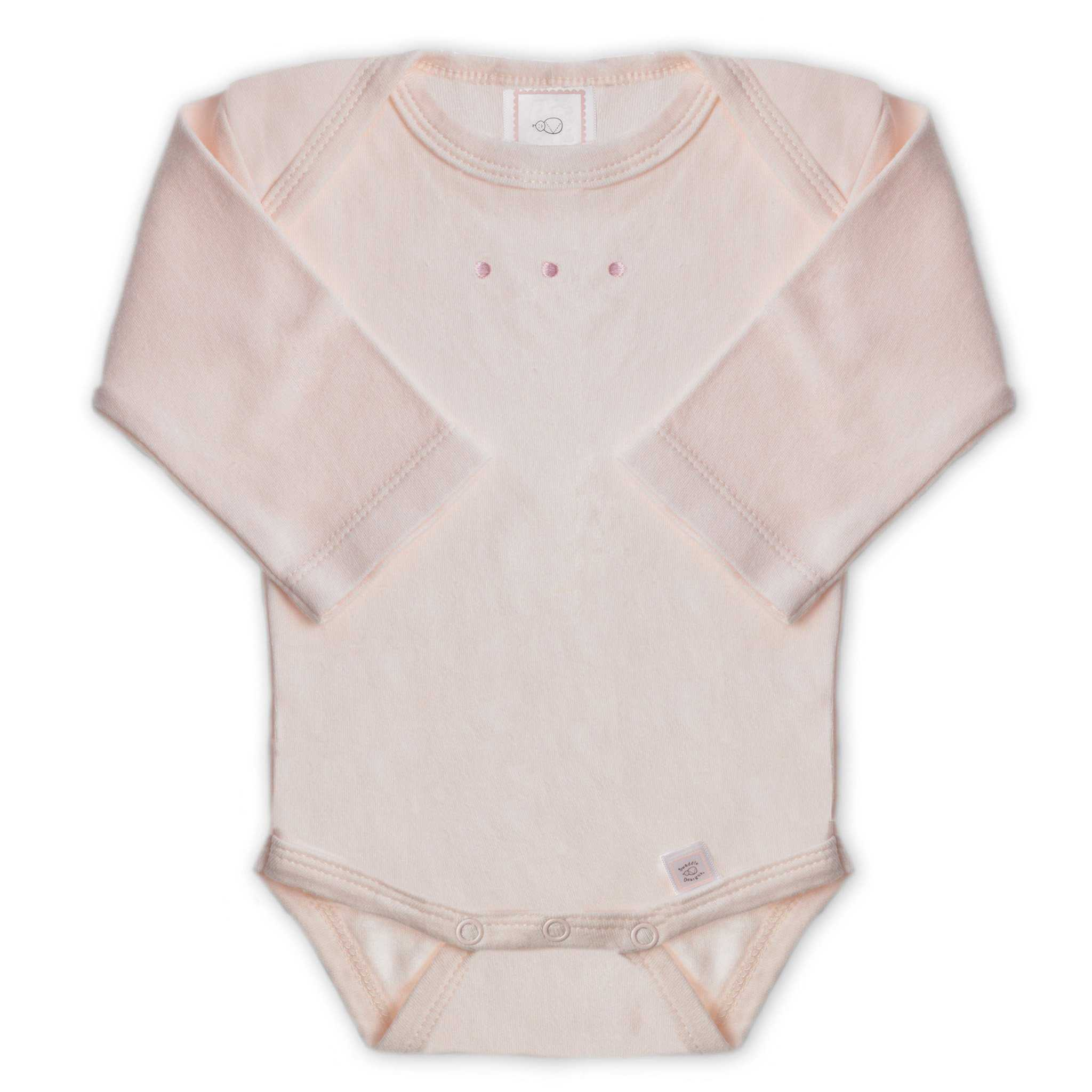 Powder Rose - Long Sleeve Bodysuit