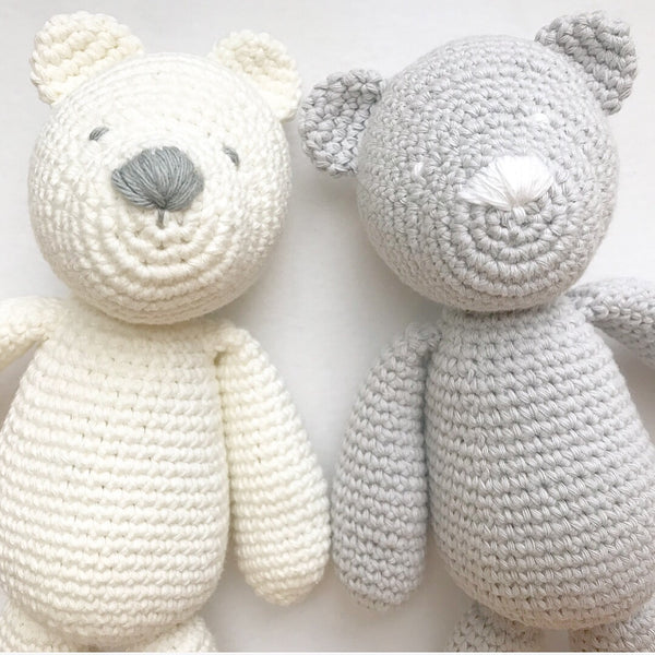Hand Knit Teddies