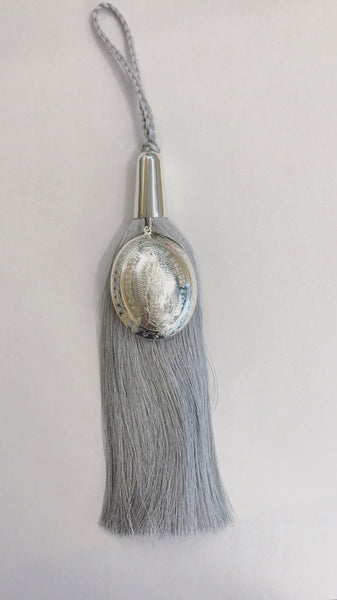 House Blessing - Silver Pleated Medal