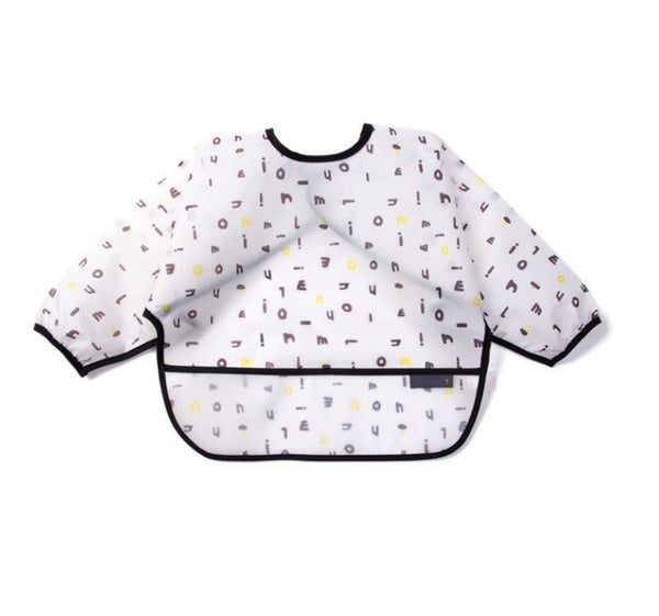 Alphabet Soup- Long Sleeve Bib