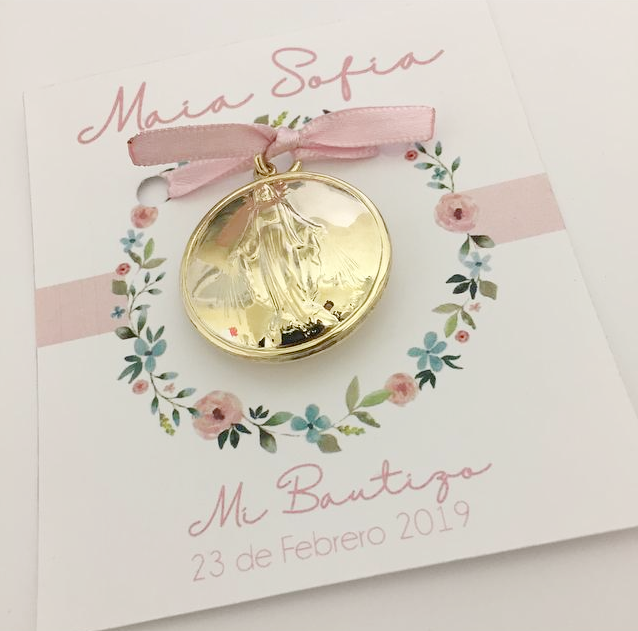 Personalized Card & Medal