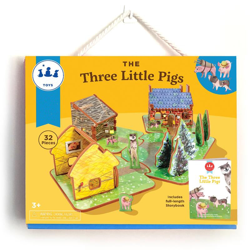 The Three Little Pigs - Set de Juego