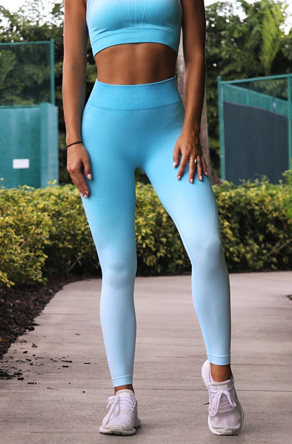 Active Life Leggings- Teal