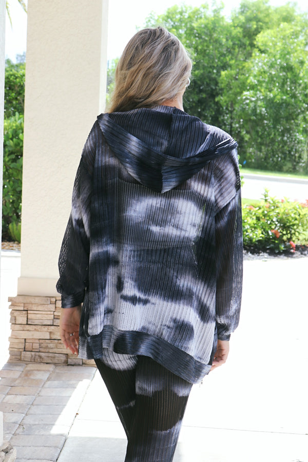 Get Away With Me Tie-Dye Jacket