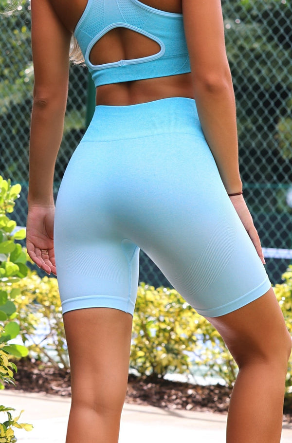 Active Life Shorts- Teal