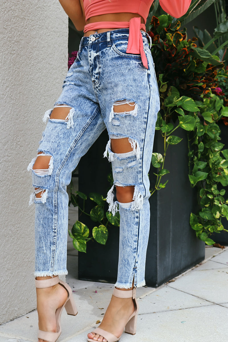 Yes To Distressed Kancan Jeans