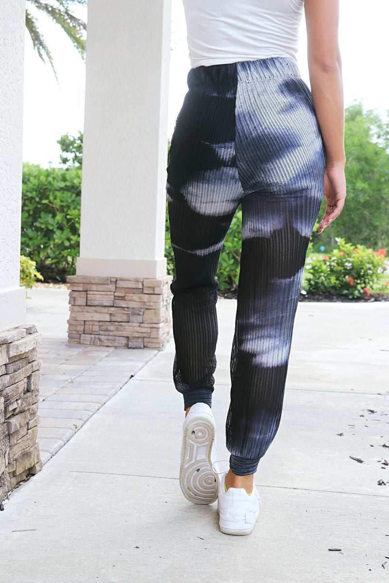 Get Away With Me Tie- Dye Joggers